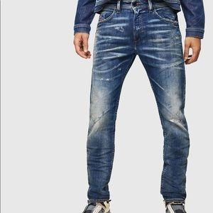 Diesel Darron Slim Tapered Blue Eyecons 2013 Jeans